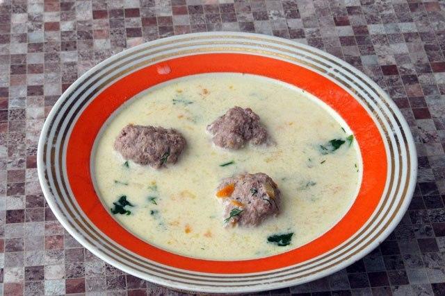 Суп из замороженных фрикаделек рецепт с пошагово
