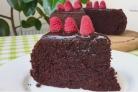 Очень простой шоколадный торт на раз, два, три