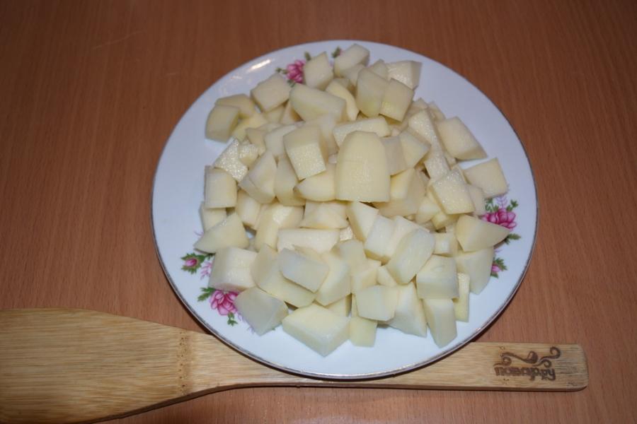 Рецепт Солянка с картошкой