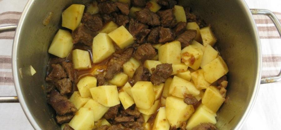 мясо по венгерски рецепт с фото пошагово