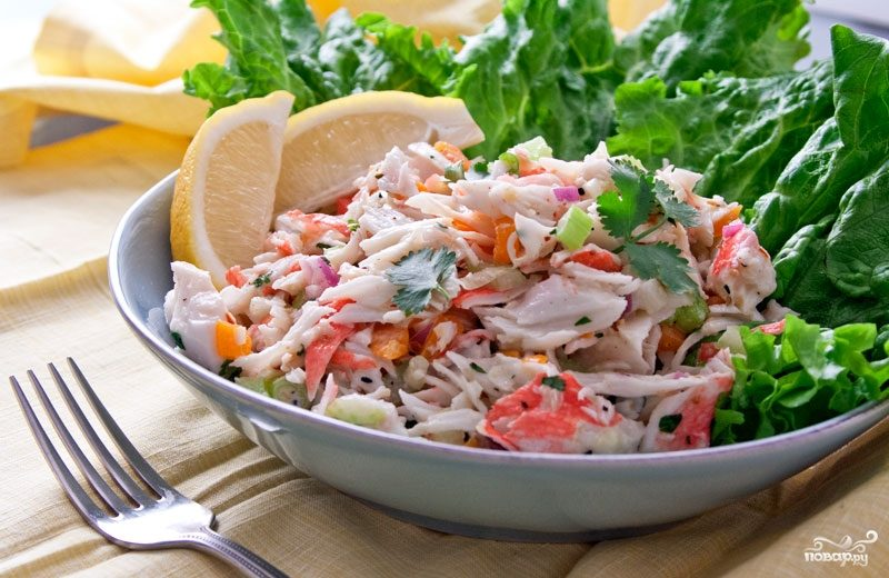 Что можно приготовить быстро и вкусно салат