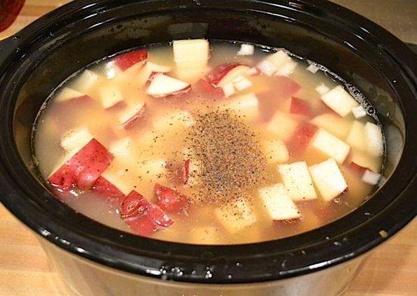 Картофельный суп в мультиварке - фото шаг 2