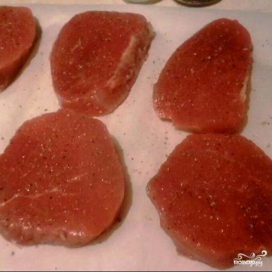 Рецепт Медальон из говядины