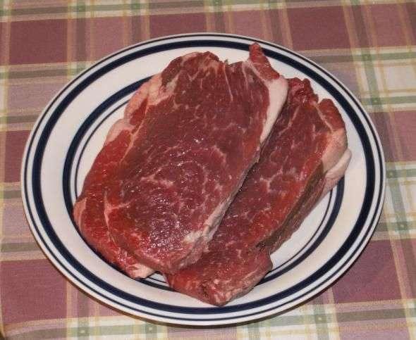 Рецепт Жареный ломоть говядины