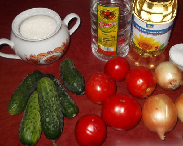 Салат в банке - фото шаг 1