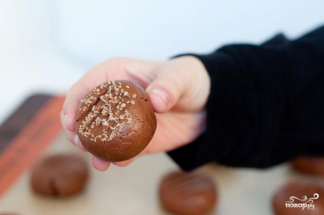Печенье с Нутеллой и кремом - фото шаг 4
