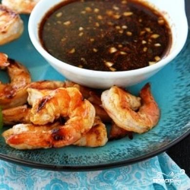 Креветки в сладко-остром соусе - фото шаг 9