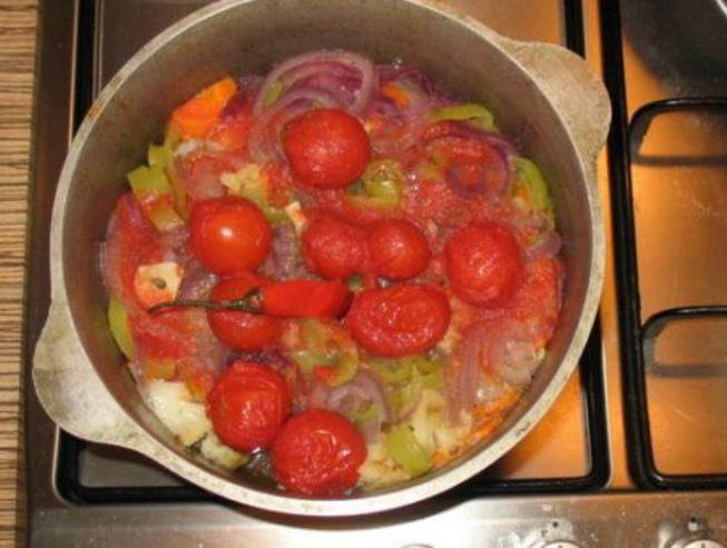 баранина в вине в духовке рецепт с фото