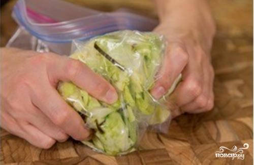 Маринованная капуста с острым перцем - фото шаг 6