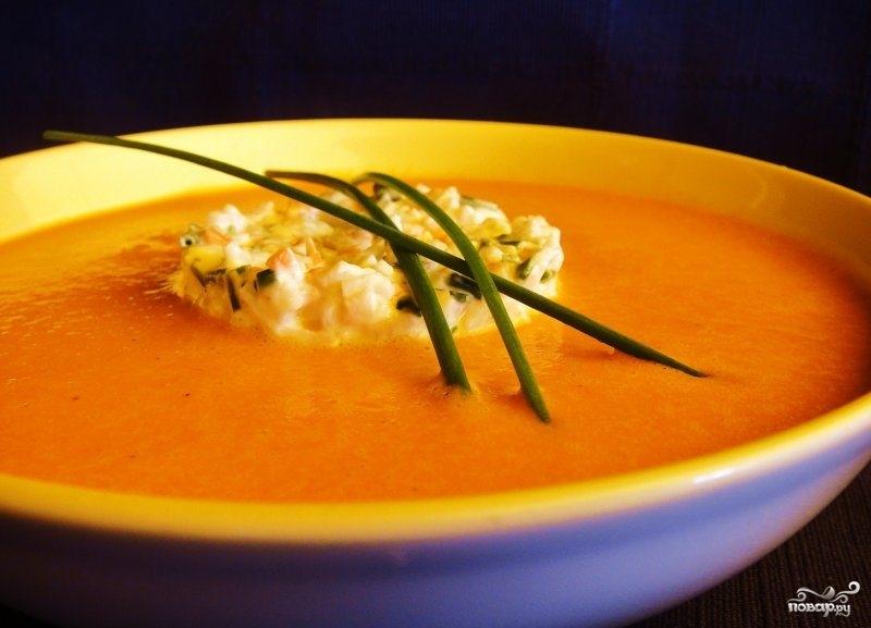 Суп-пюре из перца