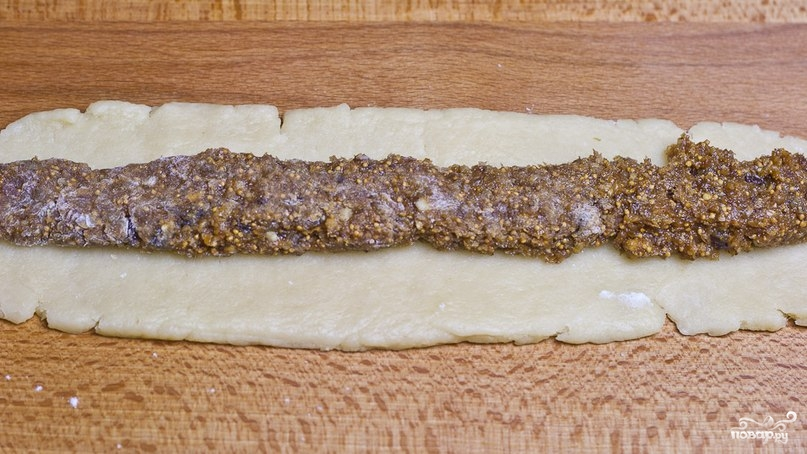 Итальянское печенье с инжиром - фото шаг 3