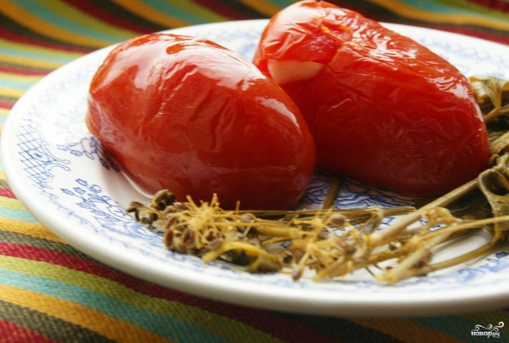 Рецепт Помидоры соленые