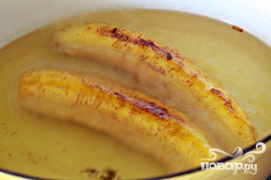 Лодочки из бананов с мясной начинкой - фото шаг 2