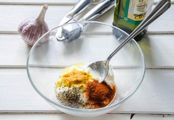 Рецепт Шашлык из рыбы трески