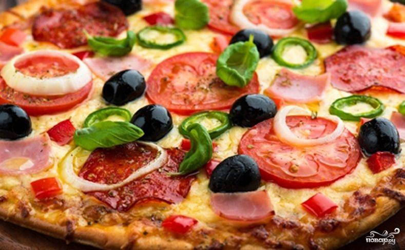 Рецепт Пицца в домашних условиях в духовке