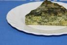 Запеканка из брокколи и шпината