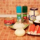 Рецепт Закуска из крабовых палочек