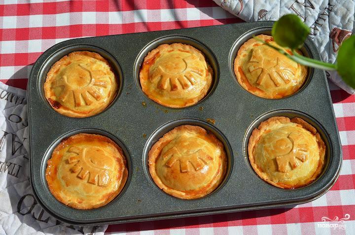 Пирожки с грушами - фото шаг 14