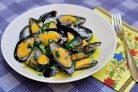 Рецепт мидий по-французки