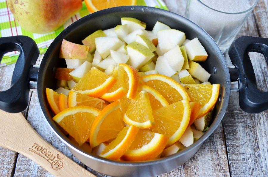 варенье из груш с апельсинами мужское