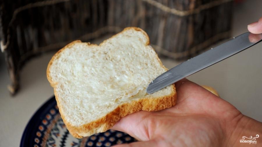 Рецепт Бутерброд с яичницей