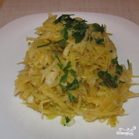 Салат из репы - фото шаг 3