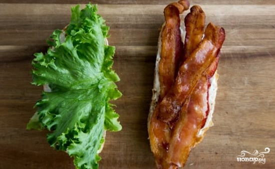 Бутерброды на завтрак - фото шаг 5
