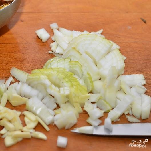 Средиземноморский салат с мидиями - фото шаг 2