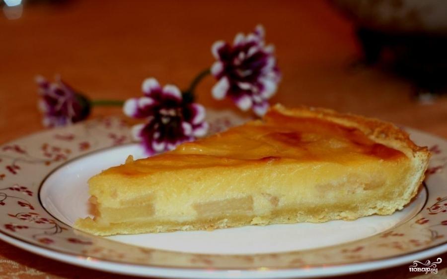 Рецепт Перевернутый пирог с айвой