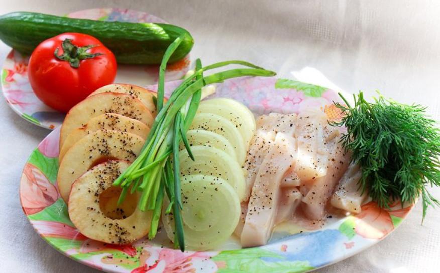 Рецепт Овощи в кляре темпура