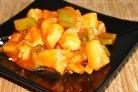 Куриное филе в кисло-сладком соусе