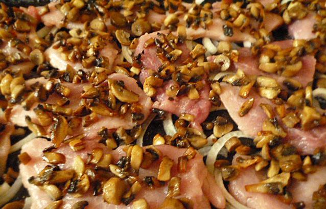 свинина по капитански в духовке рецепт