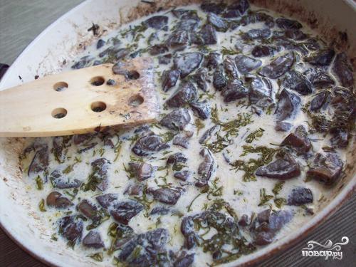 Паста с белыми грибами - фото шаг 7