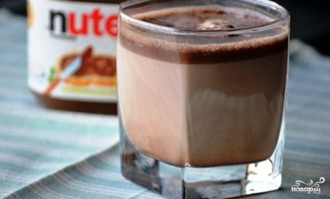 Горячий шоколад Нутелла
