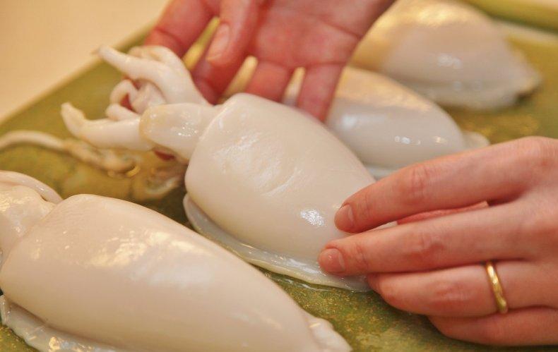 Рецепт Отбивные из кальмаров