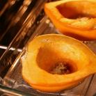 Рецепт Яблочно-луковая запеканка в сквоше