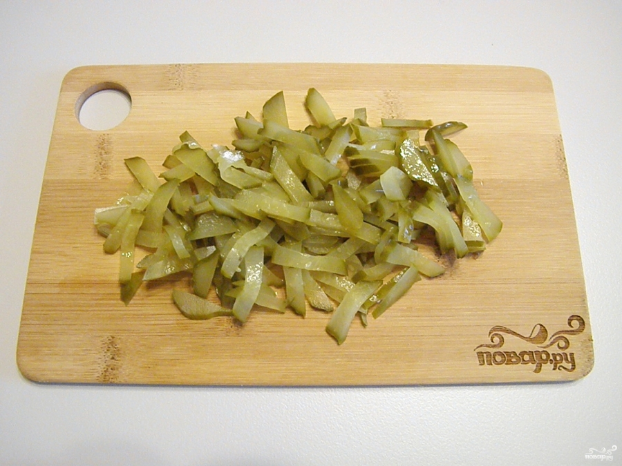 Салат из курицы с черносливом - фото шаг 5
