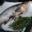 Рецепт Рыба с тимьяном и луком