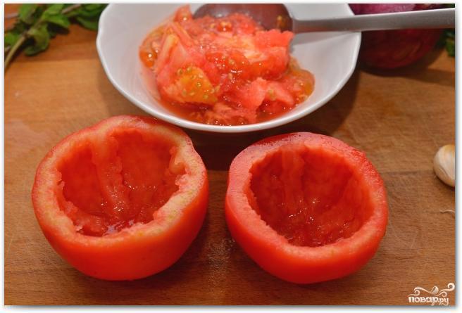 Фаршированные перцы и помидоры - фото шаг 3