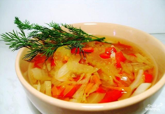 Жиросжигающий суп из сельдерея