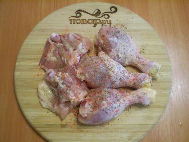 Курица с овощами и кабачками - фото шаг 3