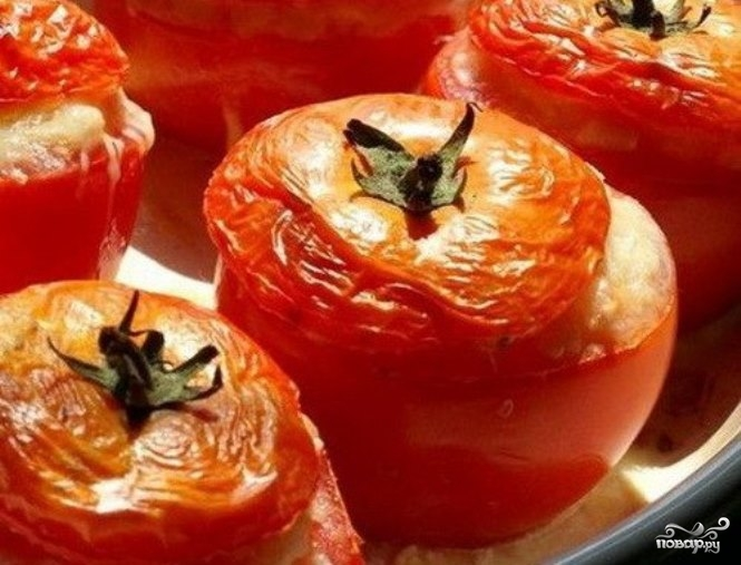 Рецепт Жульен в помидорах
