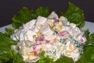 Салат куриный с ананасами