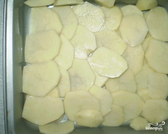 Картофельная запеканка с майонезом - фото шаг 2