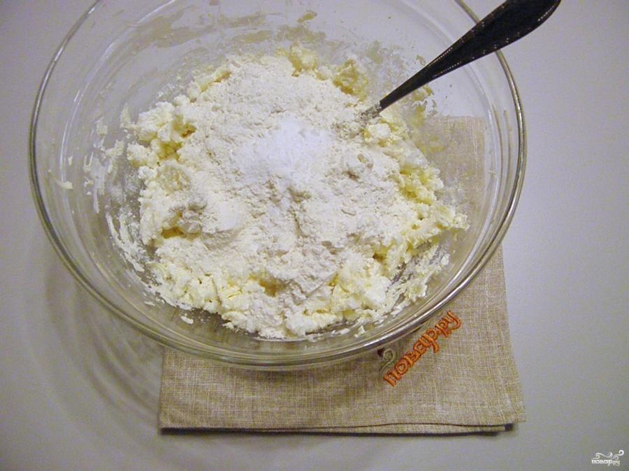 Творожное тесто для печенья - фото шаг 4