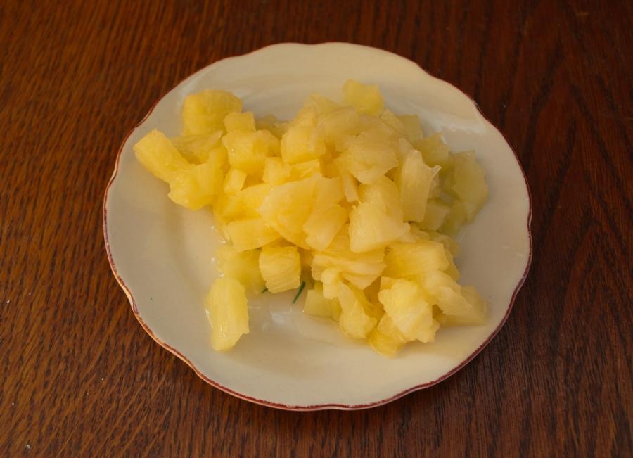 Блинчики с фруктовой начинкой - фото шаг 6