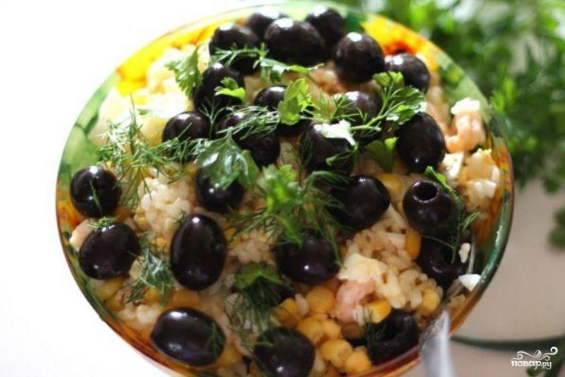 салат ы с кукурузой рецепт