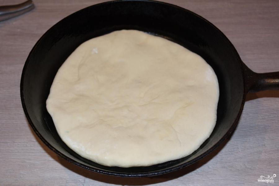 Творожный пирог с картошкой - фото шаг 8