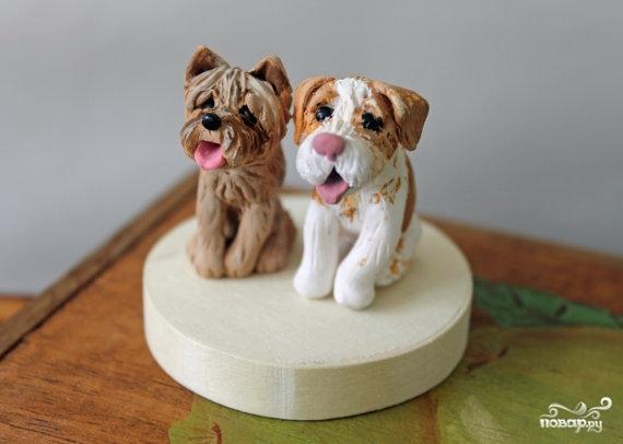 Торт в виде животного  - фото шаг 6
