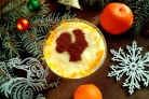 Новогодний десерт Петушок